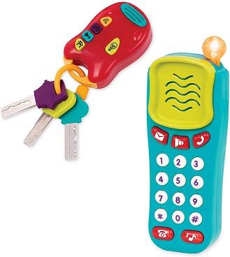 Battat Combo Set- Phone + Keys