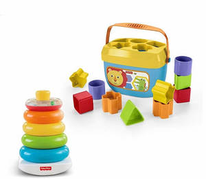 Fisher price rock a stack blocks bundle