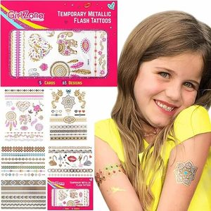 GirlZone Sparkle Temporary Flash Tattoos