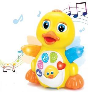 JOYIN Dancing Walking Yellow Duck Baby Toy