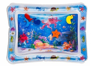 Splashin kids Inflatable Tummy Time Premium Water mat