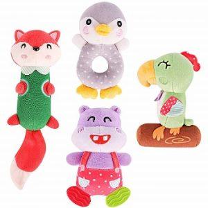 TUMAMA Soft Rattle Baby Toys