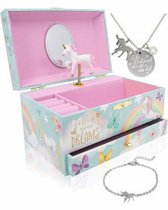 The Memory Building Company Unicorn Music Box