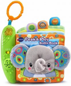 VTech Peek Play Baby Book Toy