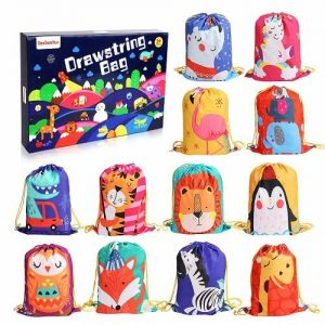 12 PCS Kids Party Favor Bags