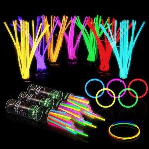 300 Glow Sticks Bulk Party Supplies