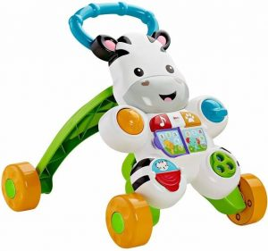 FisherPrice Learn with Me Zebra Walker