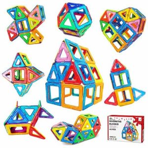 Jasonwell magnetic tiles block set