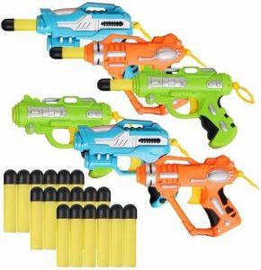 Liberty Imports Mini Foam Dart Blasters
