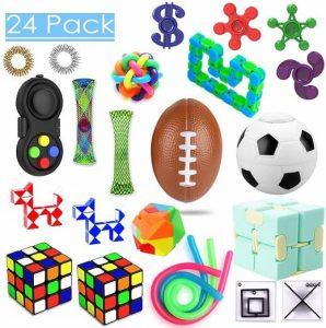 PP PHIMOTA 24 Pack Sensory Toys Set