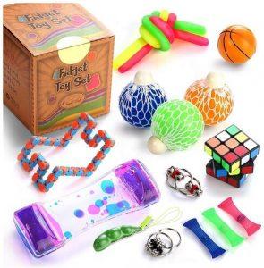 SMALL FISH Sensory Fidget Toys Set