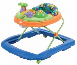Safety 1st Dino Sounds Lights Discovery Baby Walker
