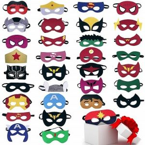 TEEHOME Superhero Masks Party Favors for Kid