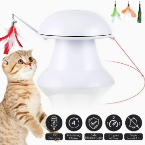 petnf 2020 New Upgraded Cat Laser Toy