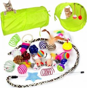 Youngever 24 cat toys