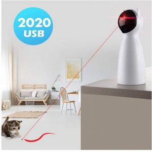 Yvelife Cat Laser Toy Automatic Interactive Toy for Kitten Dogs