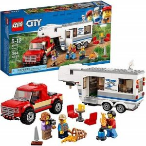 lego city pickup caravan