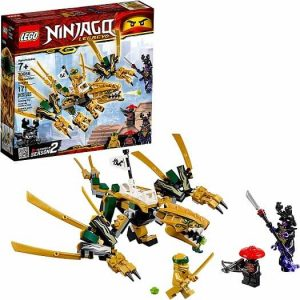 lego golden dragon