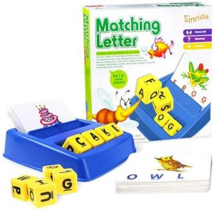 sinrida matching letter game