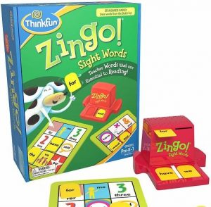 thinkfun zingo sight words award