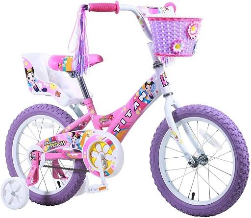 Titan's girls flower princess BMX Bike