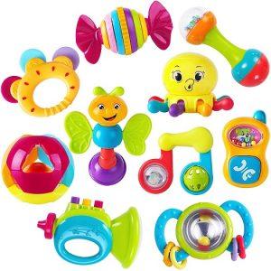 iplay ilearn baby rattles