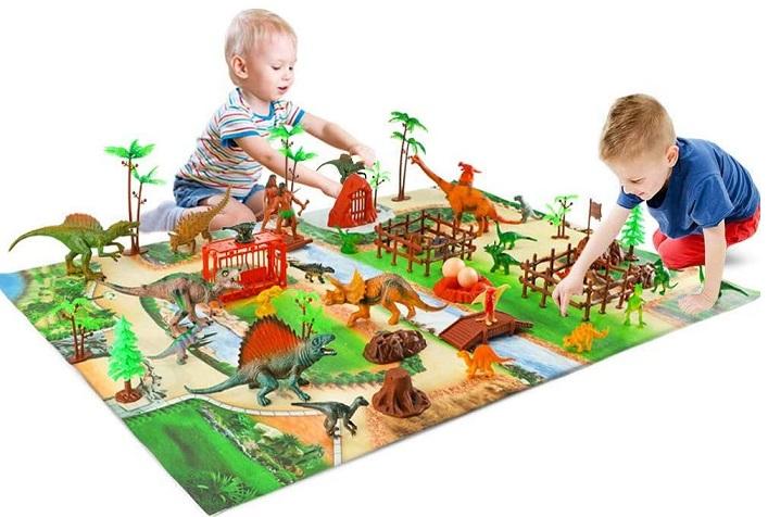 Baccow Activity Dinosur Play Mat