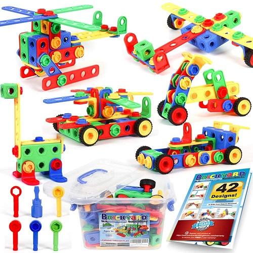 Brickyard Building Blocks STEM Toys Kit