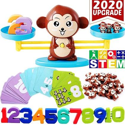 CozyBomB Monkey stem toy