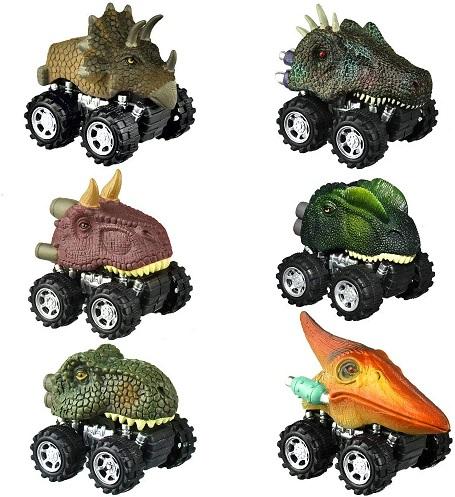 Dreamingbox- Pull Back Dinosaur Cars