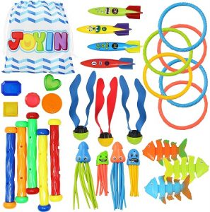 Joyim 30 Pcs Diving Pool Toys