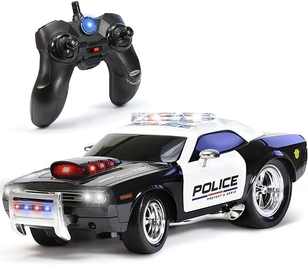 KidiRace Remote Control Police Car Toy