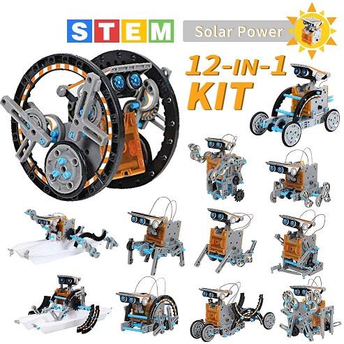Lucky Doug Solar Robot Kit