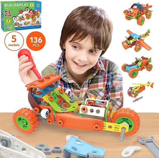 MOBIUS 136 PCS STEM Learning Toys