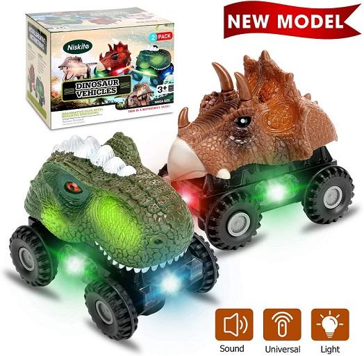 Niskite Dinosaur Car for Kids Toddler