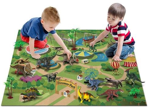 OleFun Store Activity Play Mat Dinosaur