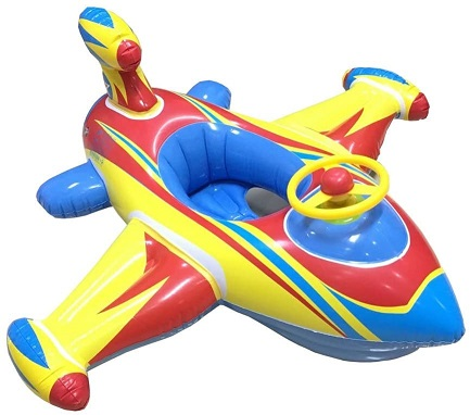 Topwon Inflatable Swimming Float Seat Boat