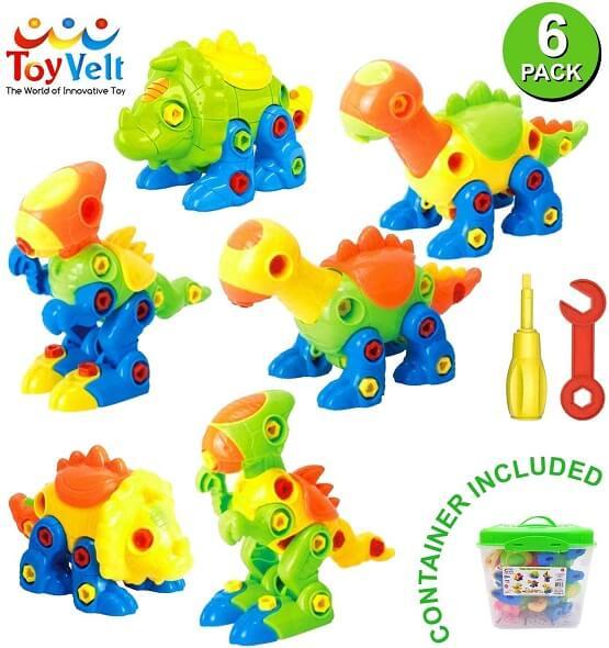 Toyvelte Dinosaur Toys